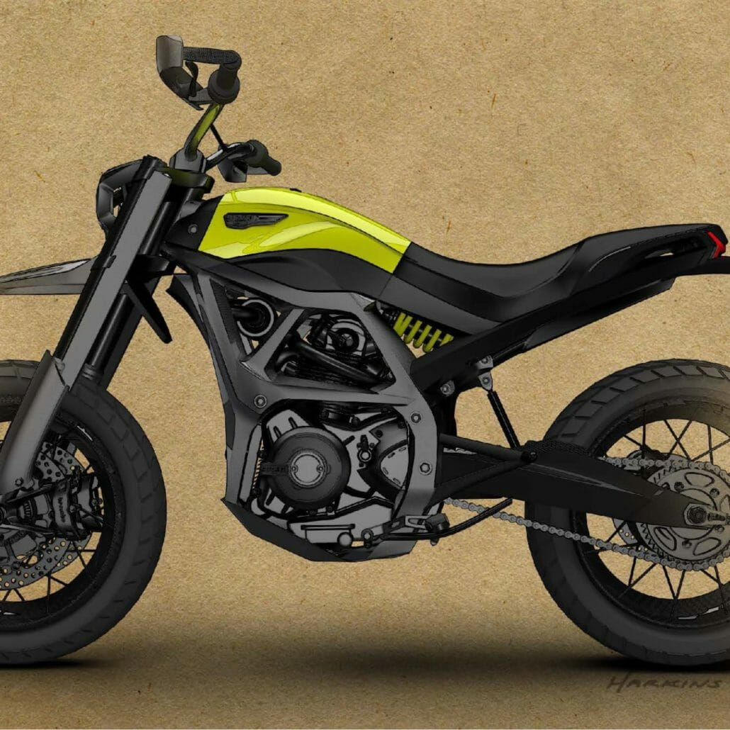 Is this what the Ducati Scrambler future looks like?