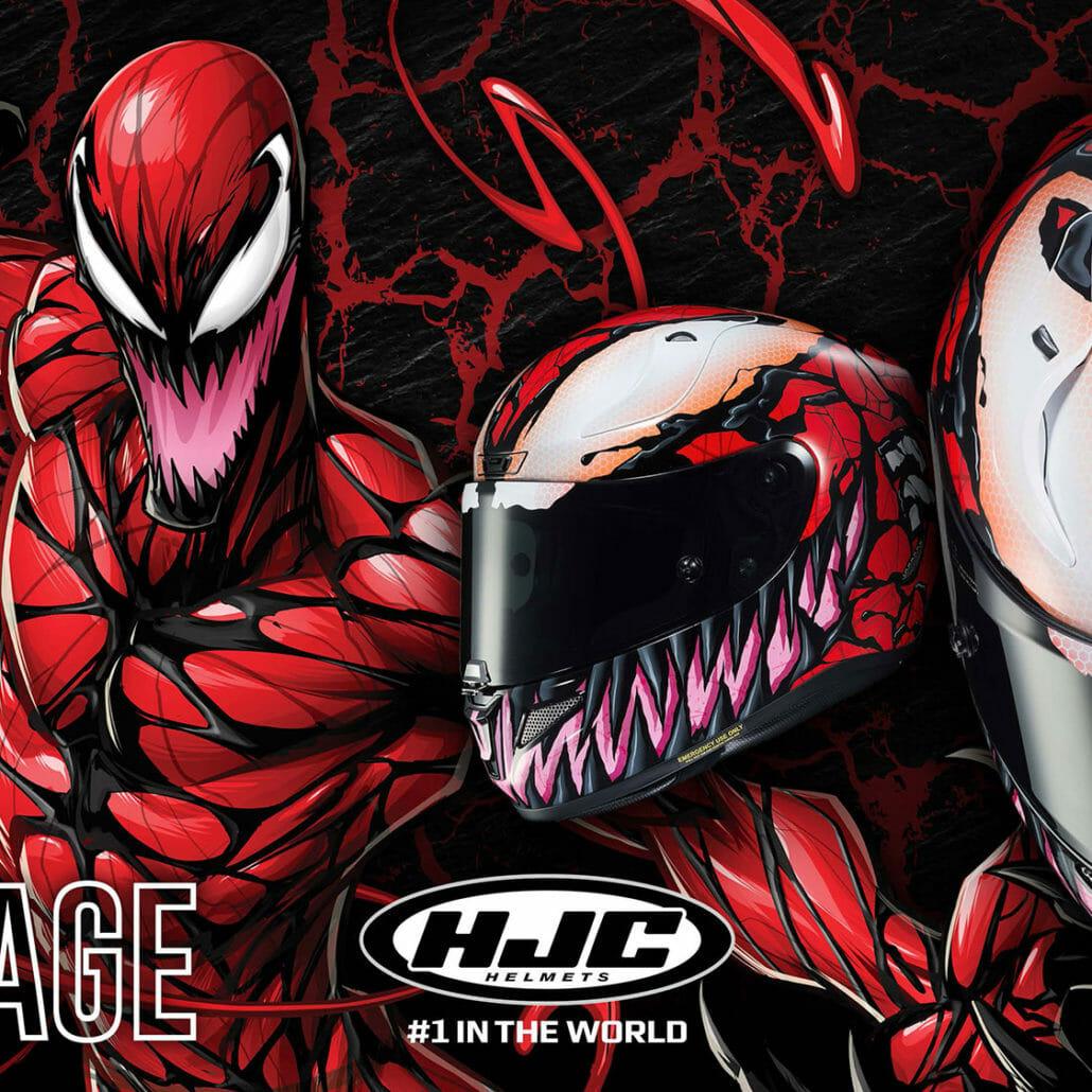 HJC - Maximum Carnage motorcycle helmet