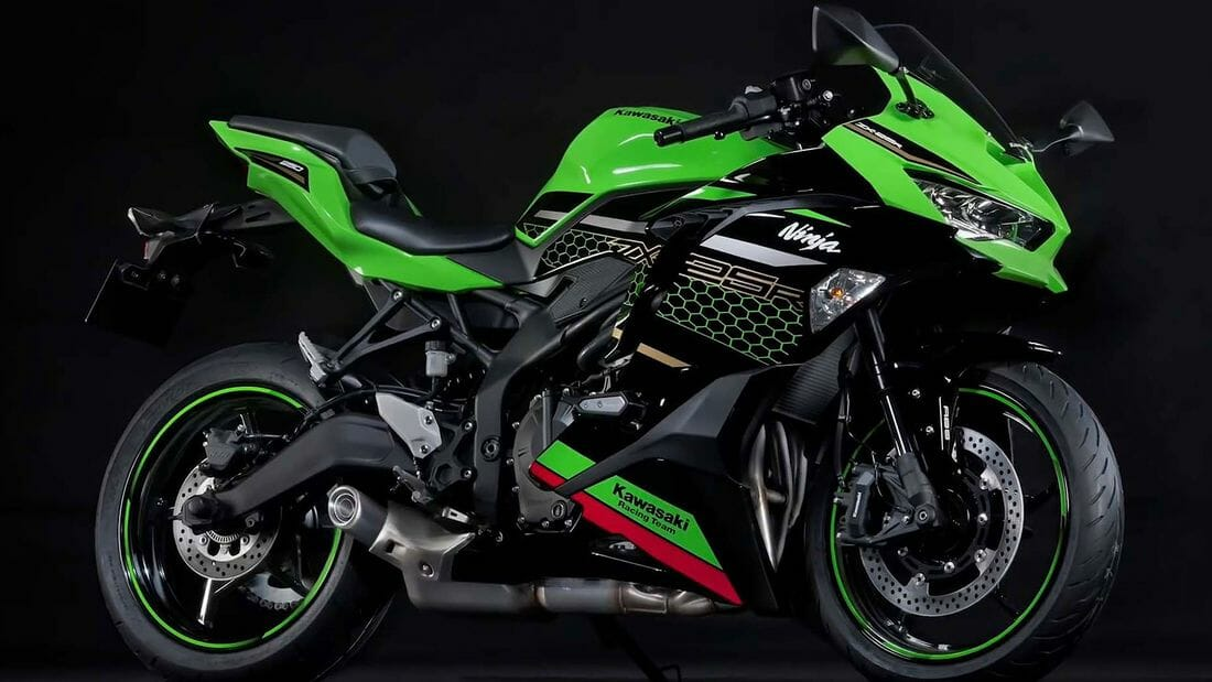 Kawasaki ZX-25R concept and data