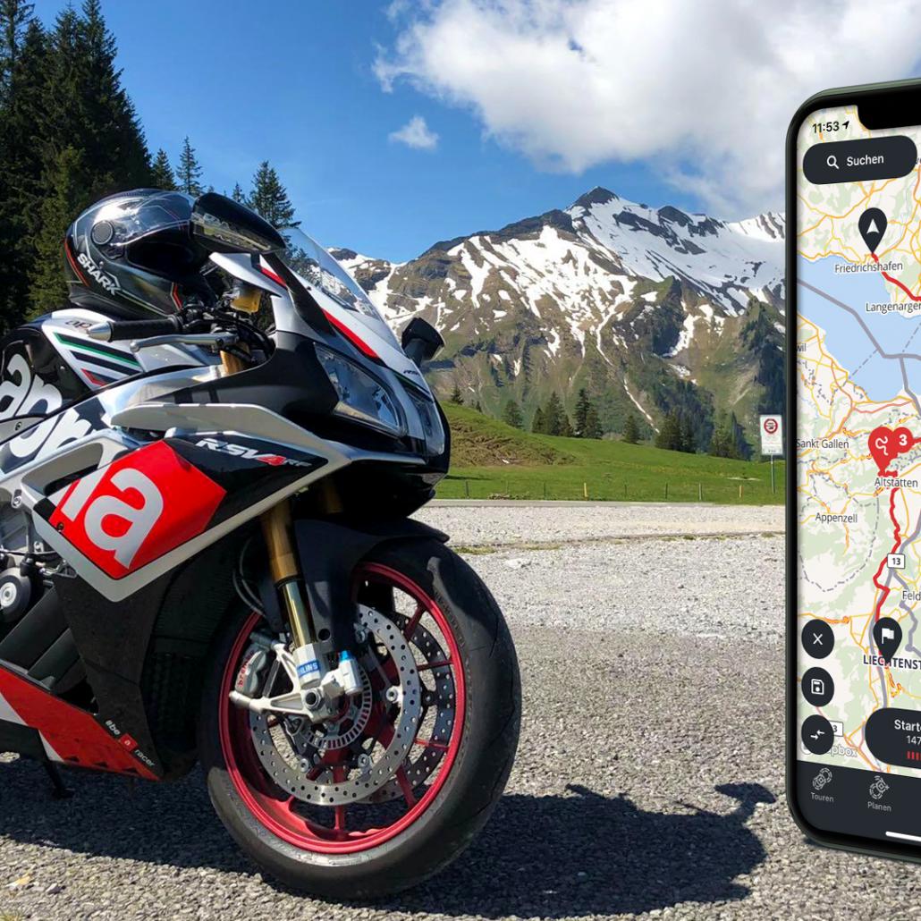 Calimoto Navigations-App ab sofort mit Offline-Funktionen