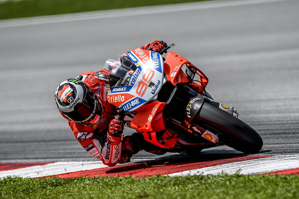 Is Jorge Lorenzo already talking to Ducati?