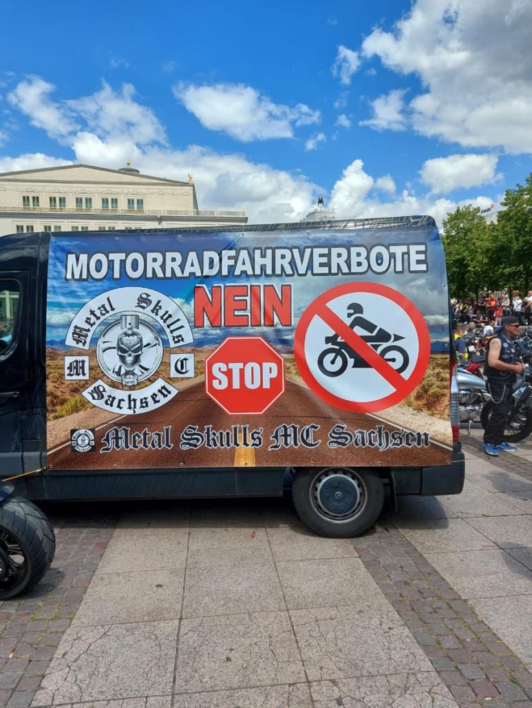 Biker Demo Nürnberg