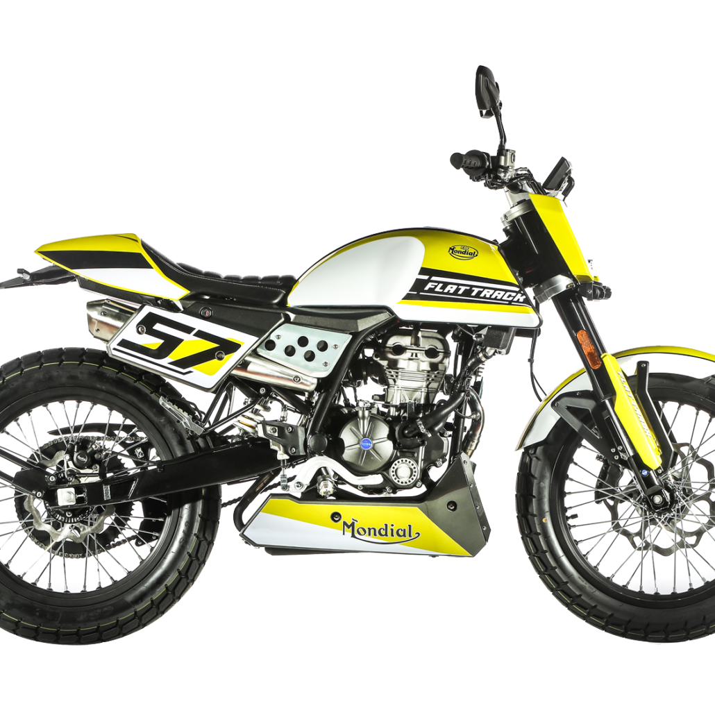 FB Mondial Flat Track 125 with Euro5