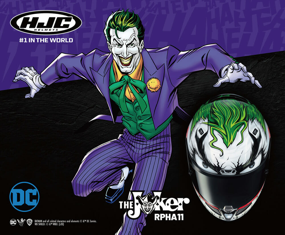 HJC RPHA 11 (Pro) JOKER! – Why so serious?