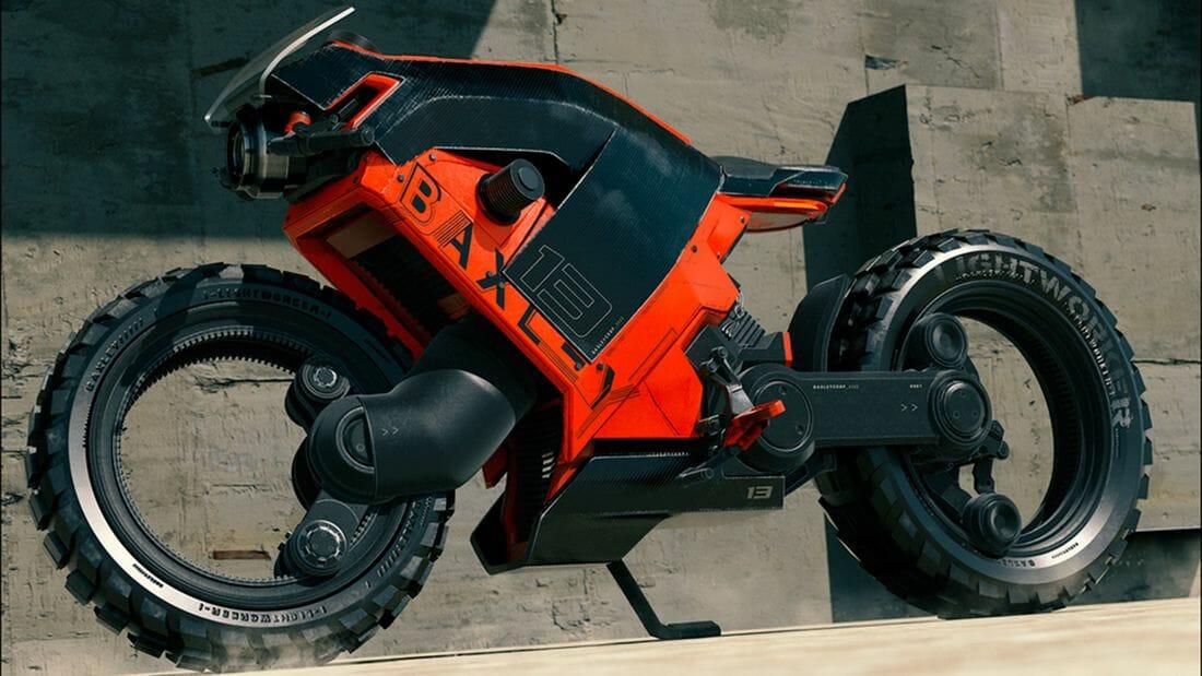 Shane Baxley Elektromotorrad Renderings
