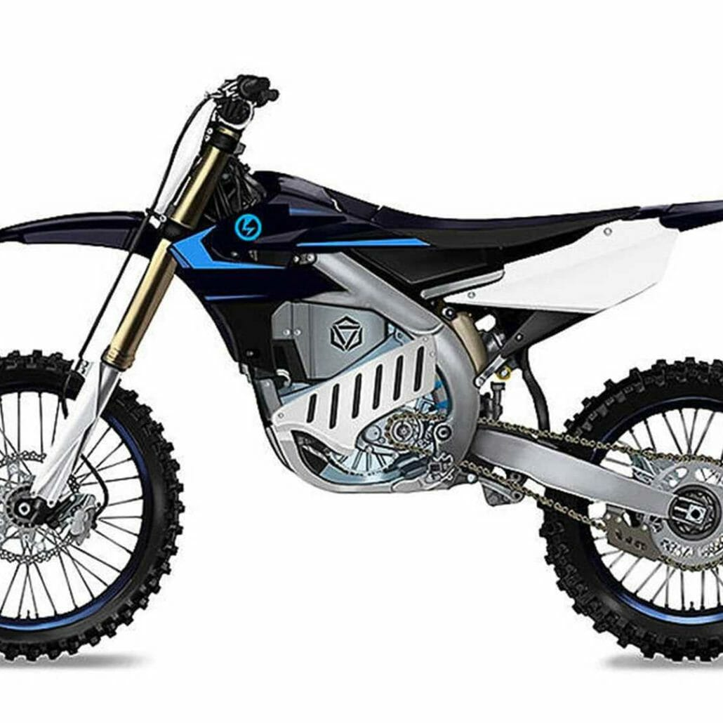 Yamaha cross bike with electric drive