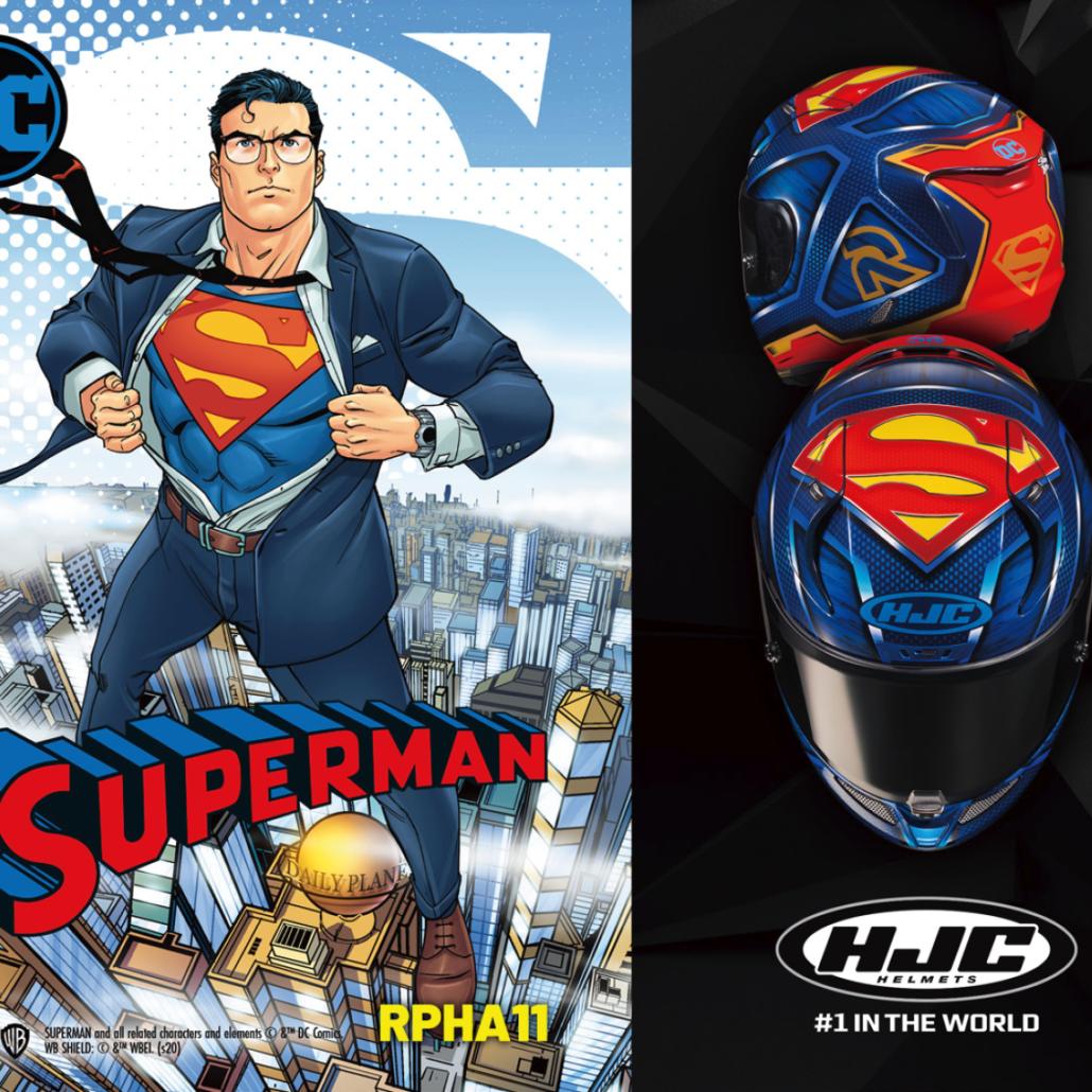Motorradhelm HJC RPHA 11 Superman