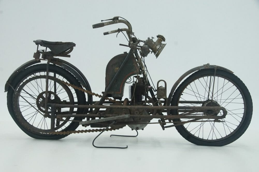 Auction of extremely rare motorcycles
