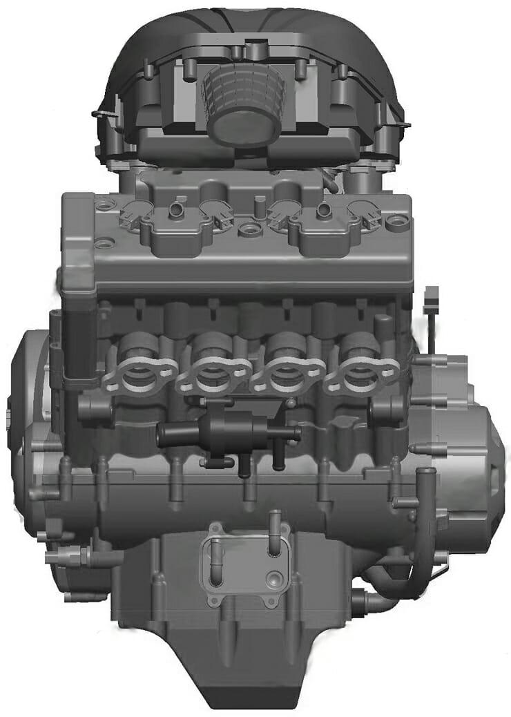 Chinese 4-cylinder sports engine