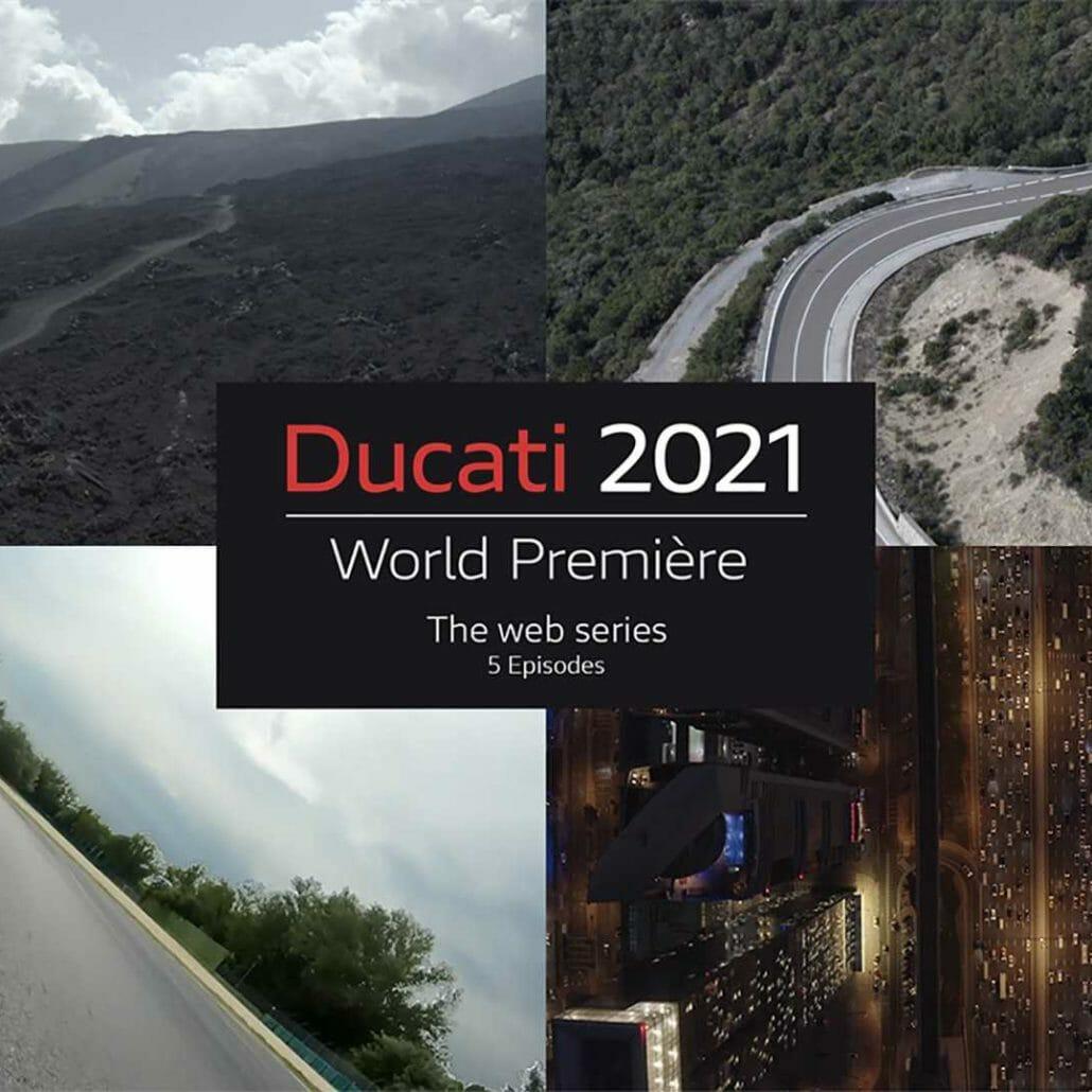 Ducati Neuvorstellungen kommen per Web-Serie