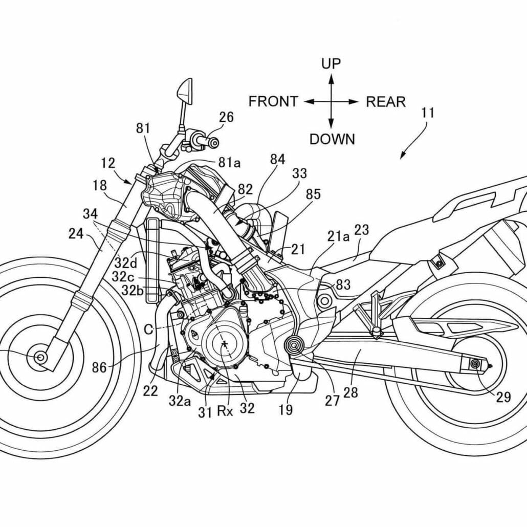 Honda works on supercharged Africa Twin