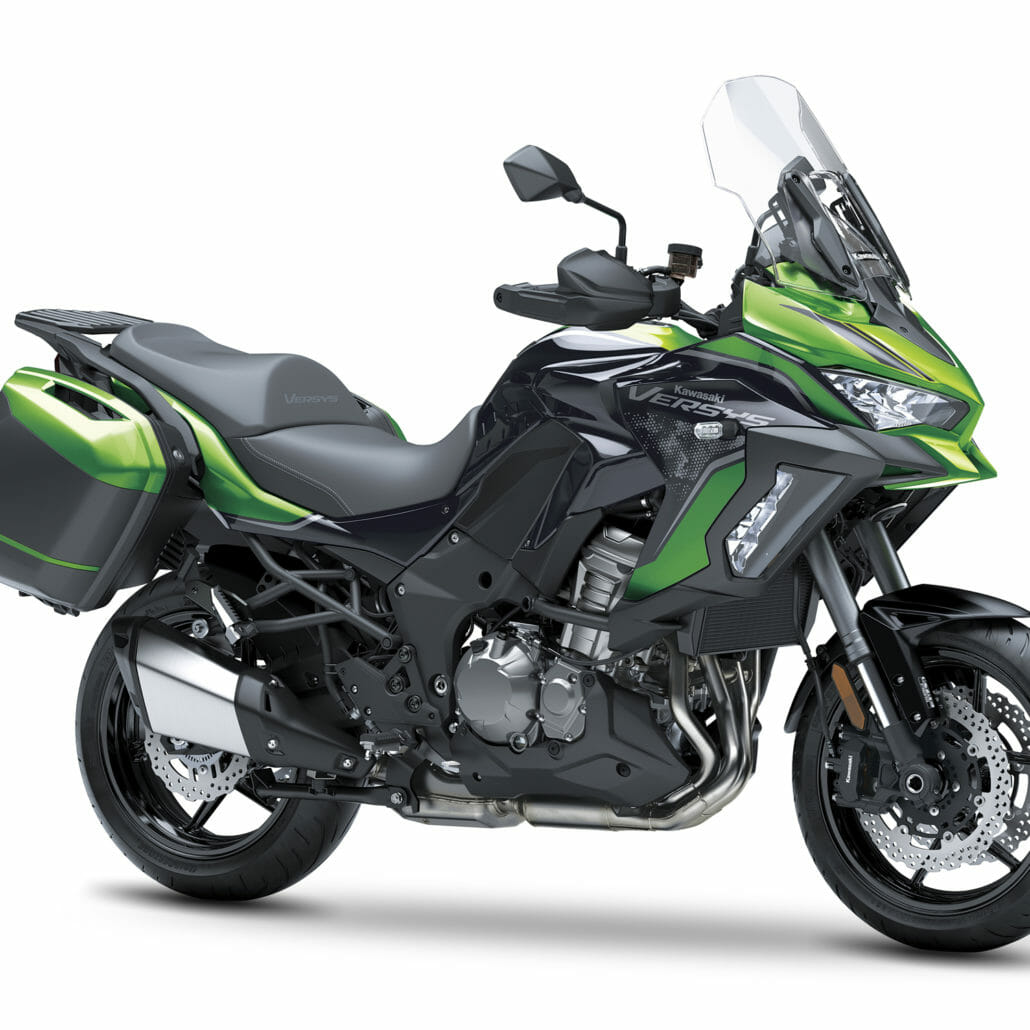 New Kawasaki Versys 1000 SE for 2021