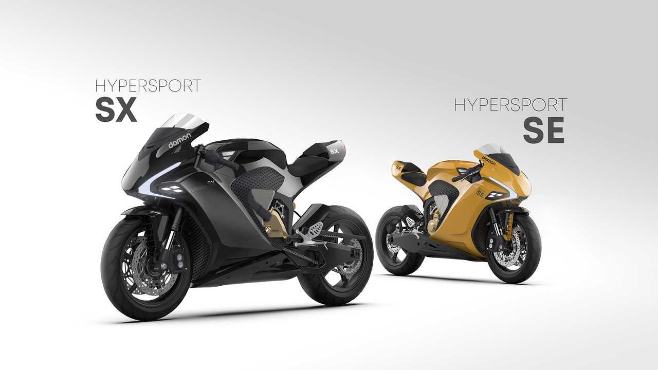 Damon Hypersport SE and Hypersport SX