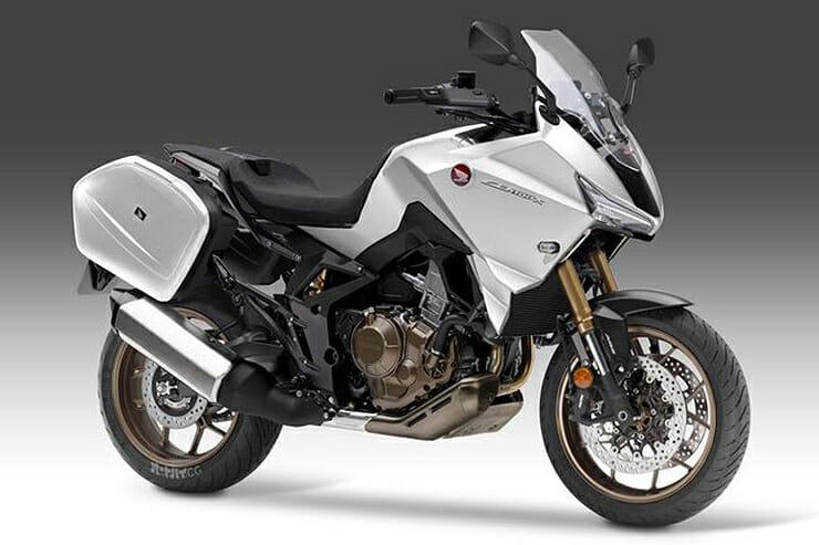 Honda works on CB1100X for 2022