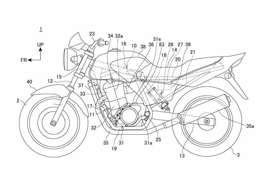 Kommt eine neue kleine Honda mit Monoshock-Dämpfer?