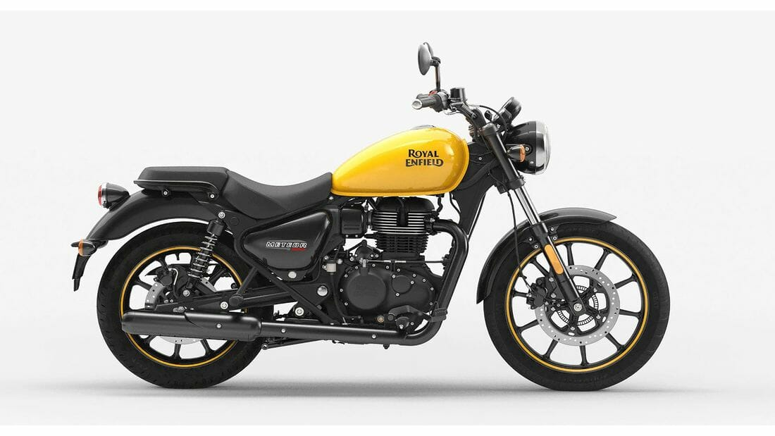 Royal Enfield Meteor 350 - Data for Europe