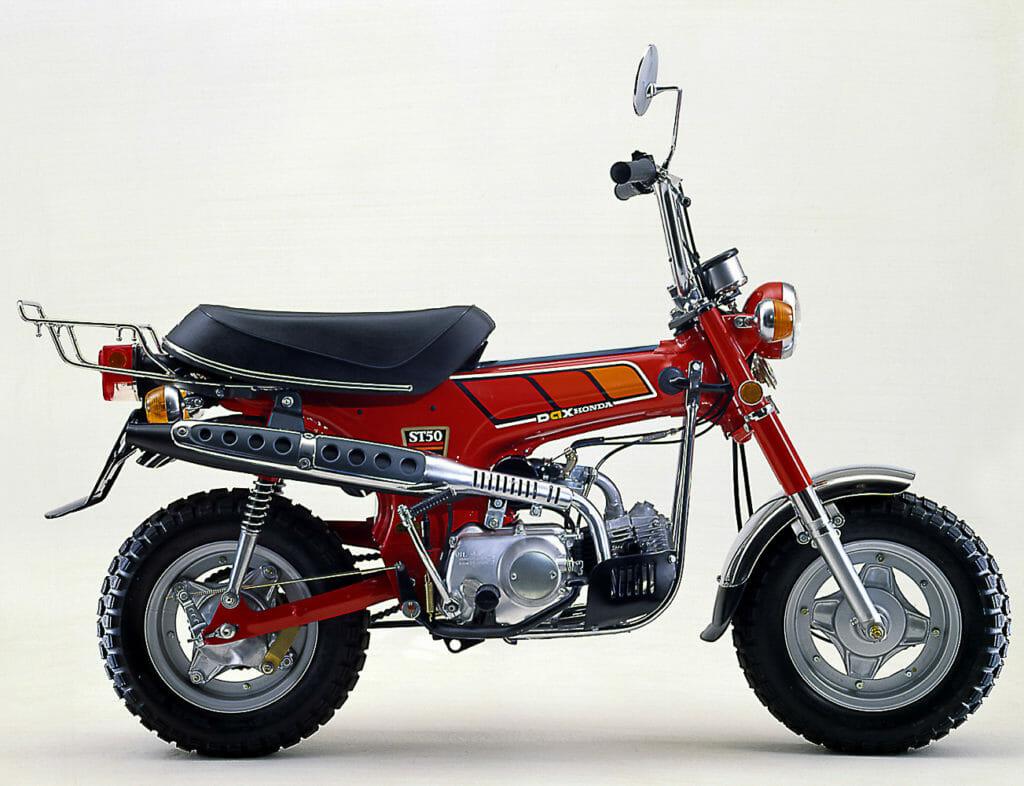 Kommt eine neue Honda ST125 Dax?