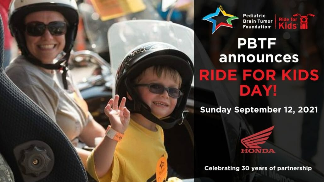 Ride for Kids USA with a central date